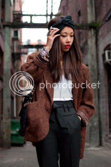 Fashion Design Wearing a Women's Vintage Boyfriend Mohair Jacket 2010 Pictures