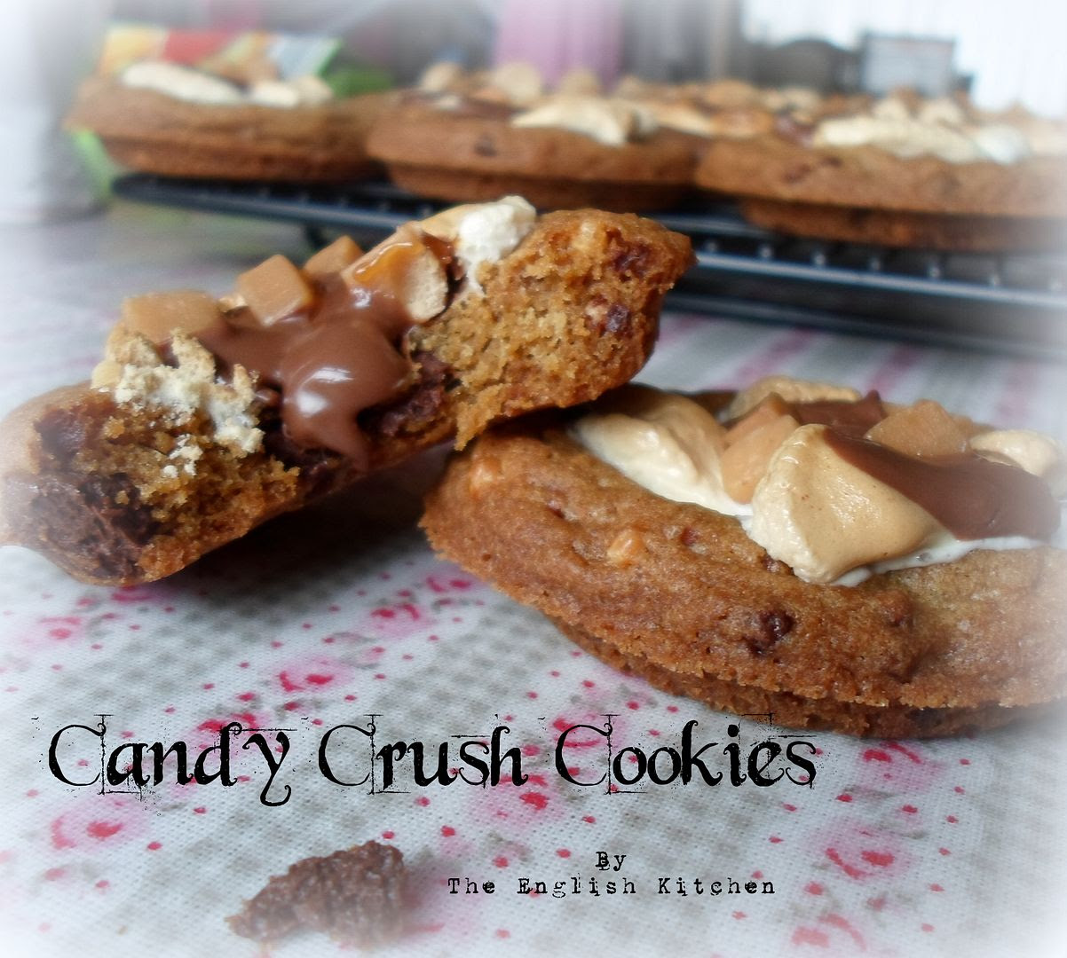 Chocolate Oreos Dunmore Candy Kitchen: The English Kitchen: Candy Crush Cookies