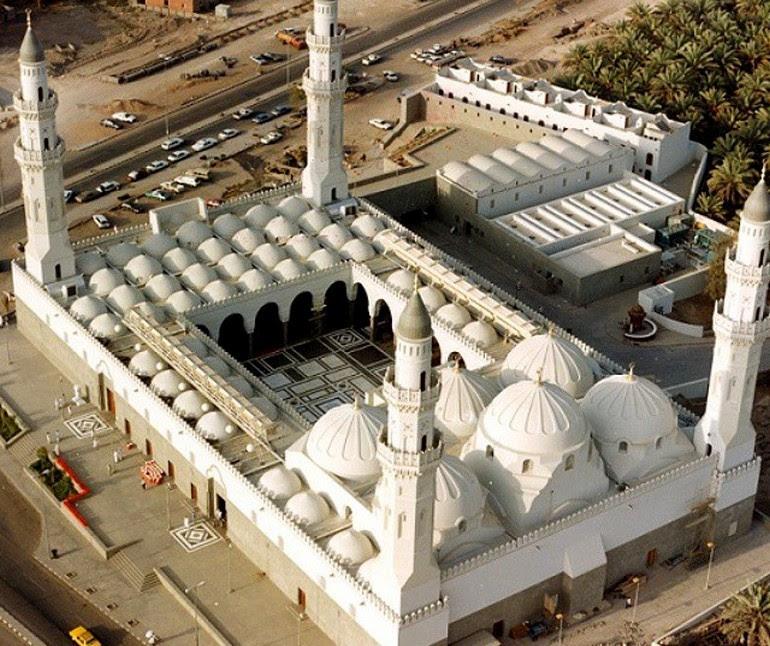 Masjid Quba overhead view