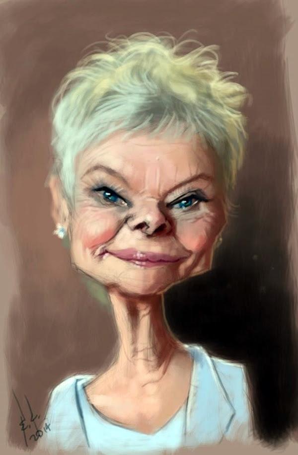 Portrait Caricatures Of Famous Peoples (2)