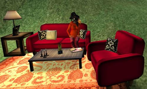 50L Weekend Fever Beetles Bones living room set
