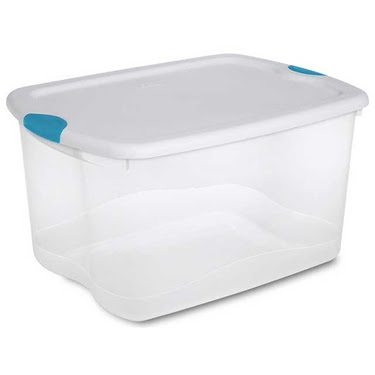 Sterilite 66 Quart Latch Box Storage Tote