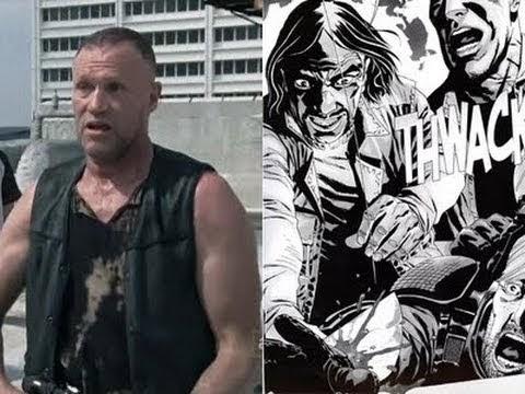 The Walking Dead Comic Merle