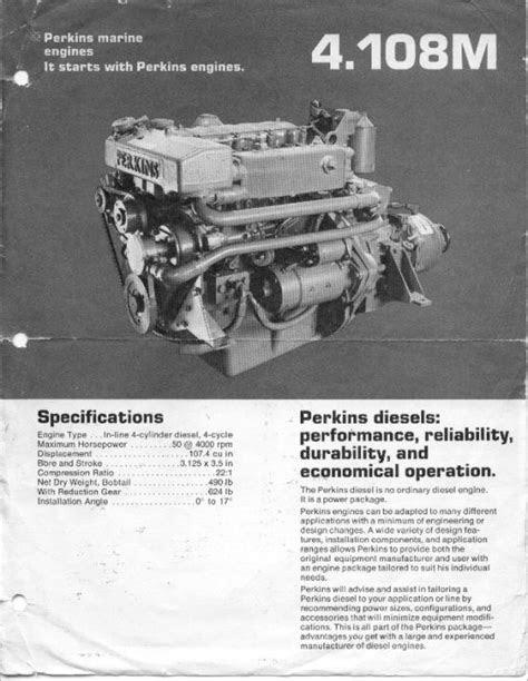 Perkins 4108 Diesel Engine for sale / the UK