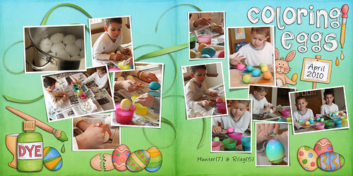 Egg Coloring 2010