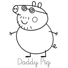 free peppa pig coloring pages at getdrawings  free download