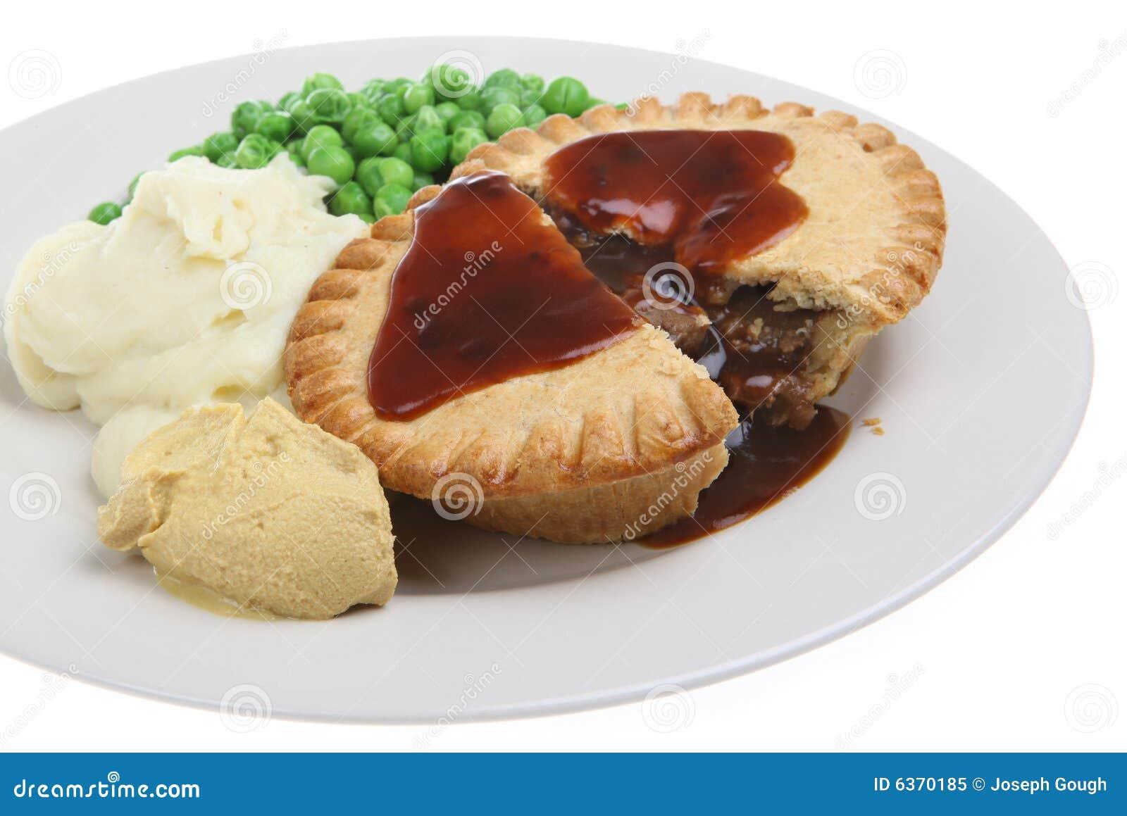 Steak Pie & Mash Royalty Free Stock Photo - Image: 6370185