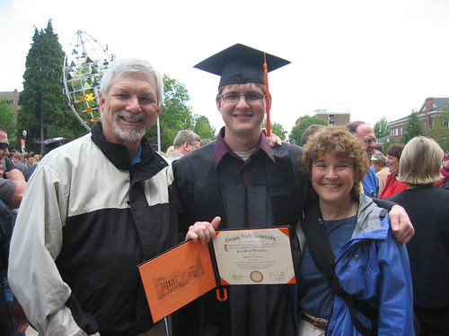 Brian and parents