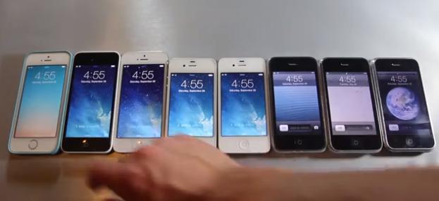 8 Apple iPhone models