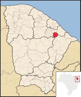 Localização de Ocara