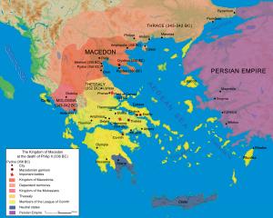 Map Macedonia 336 BC-en.svg