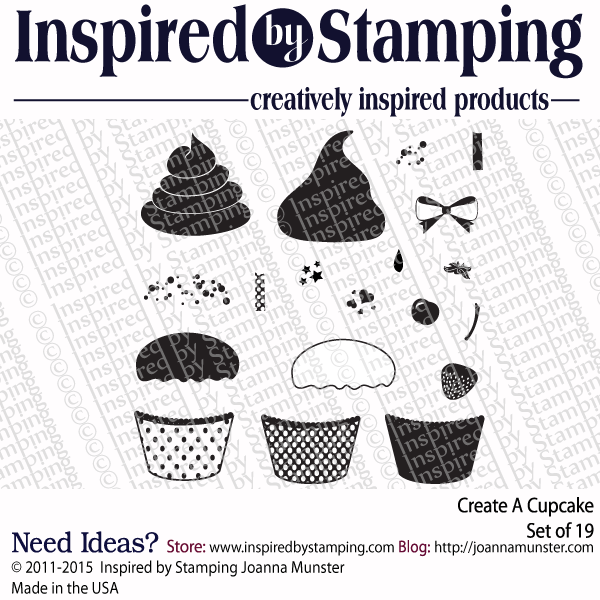 Inspired by Stamping Create A Cupcake stamp set