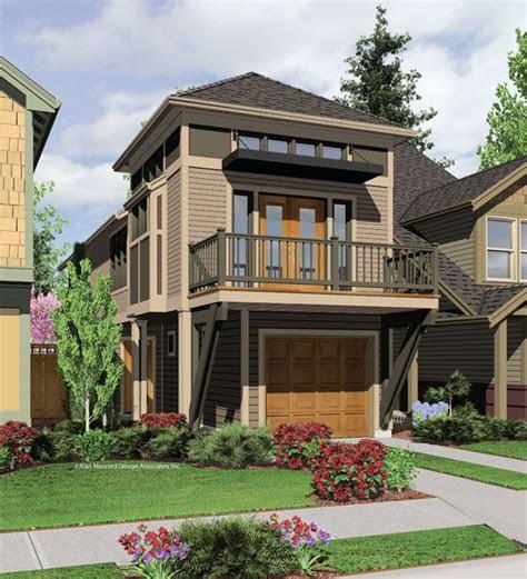 narrow lot plan starting    homes