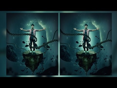 PHOTOSHOP EDITING TUTORIAL | the other planet photoshop manipulation