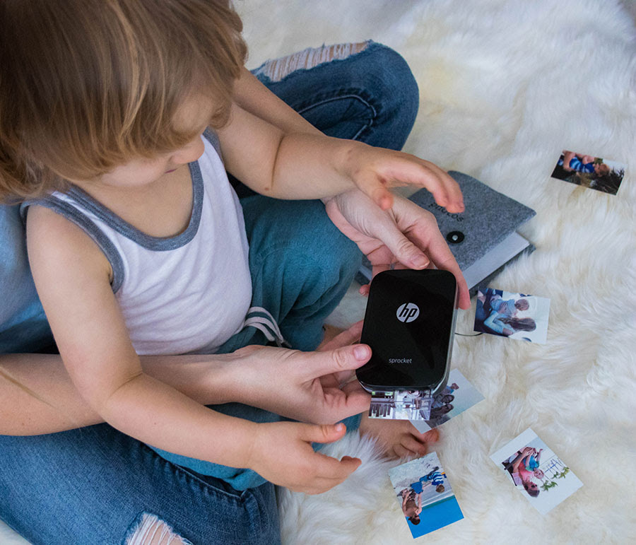 Creating Family Memories With Hp Sprocket Life By Lee