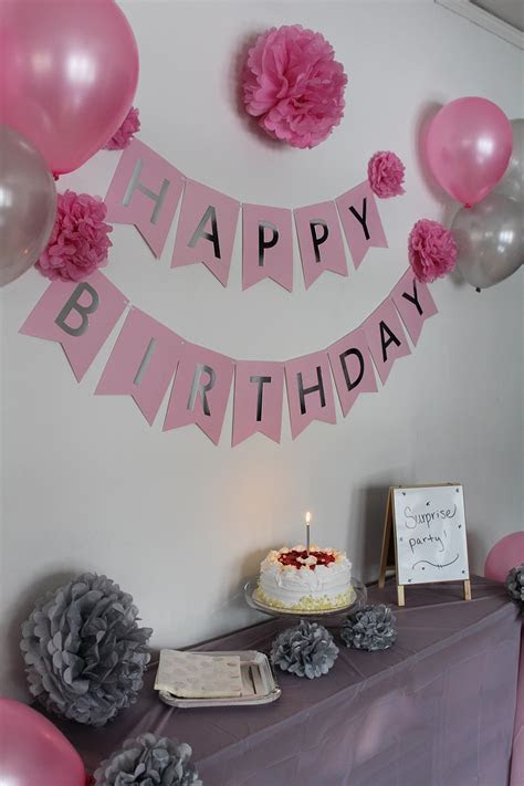 Cheap Pink And Silver Birthday Party Decorations, find