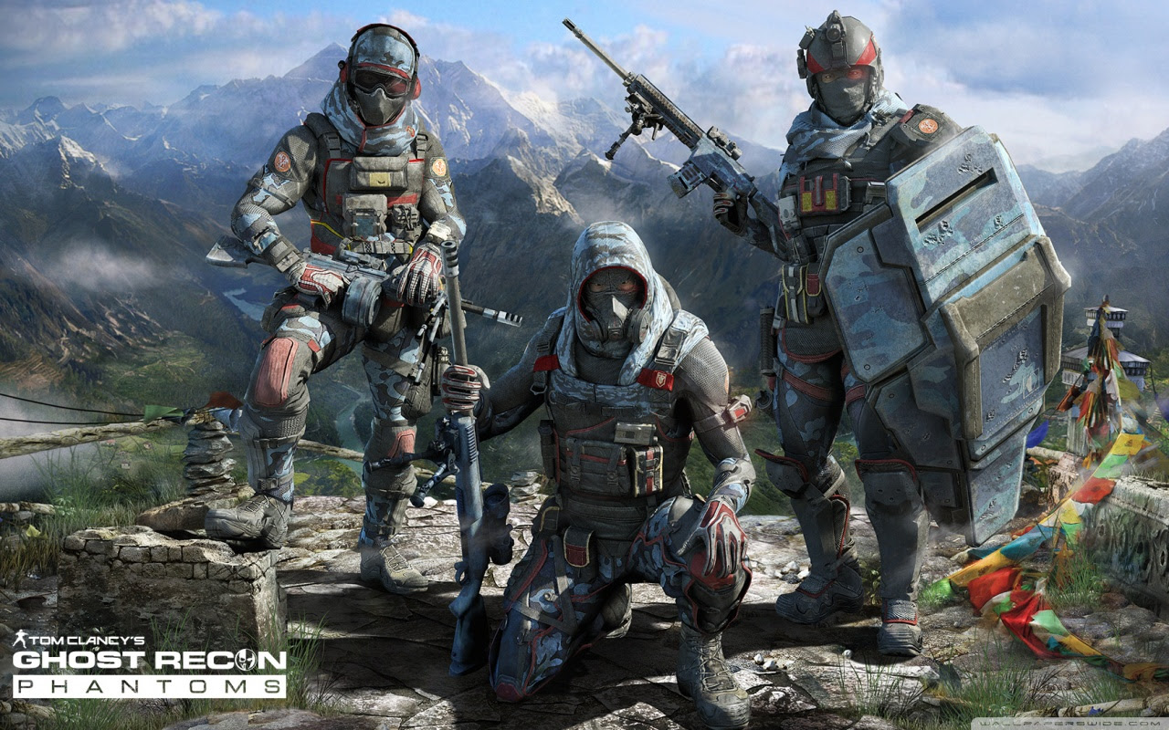 GHOST RECON PHANTOMS - GHOSTS FarCry4 PACK Complete ...