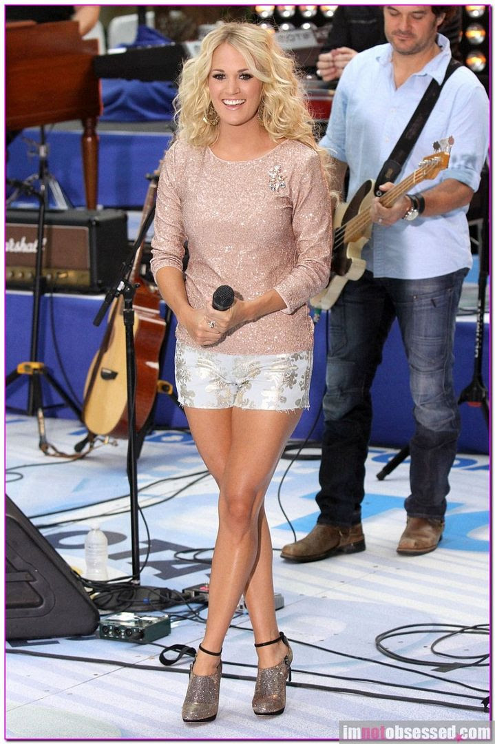 Today - August 15, 2012, Carrie Underwood