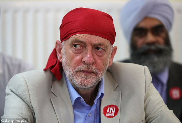 Image result for Jeremy Corbyn guy with hat