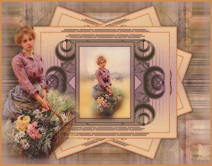 La dame des fleurs