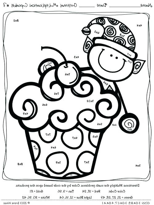 Math Coloring Pages 3rd Grade at GetColorings.com | Free ...