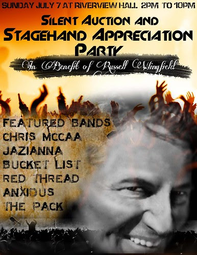 Russell Wingfield benefit concert July 7 by trudeau