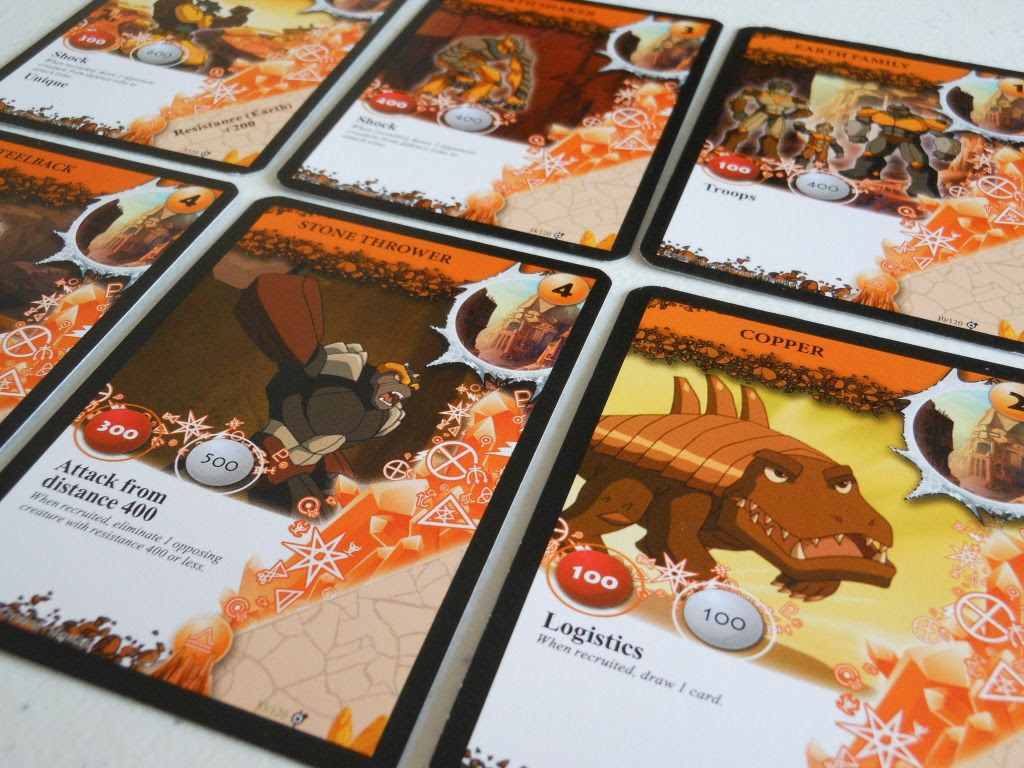 Gormiti: The Trading Card Game in play
