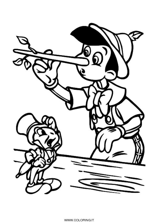 Pinocchio Disegni Da Colorare Coloring It