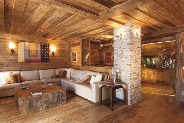 Rustic Wood Interiors – Charming Distressed Wood Decor