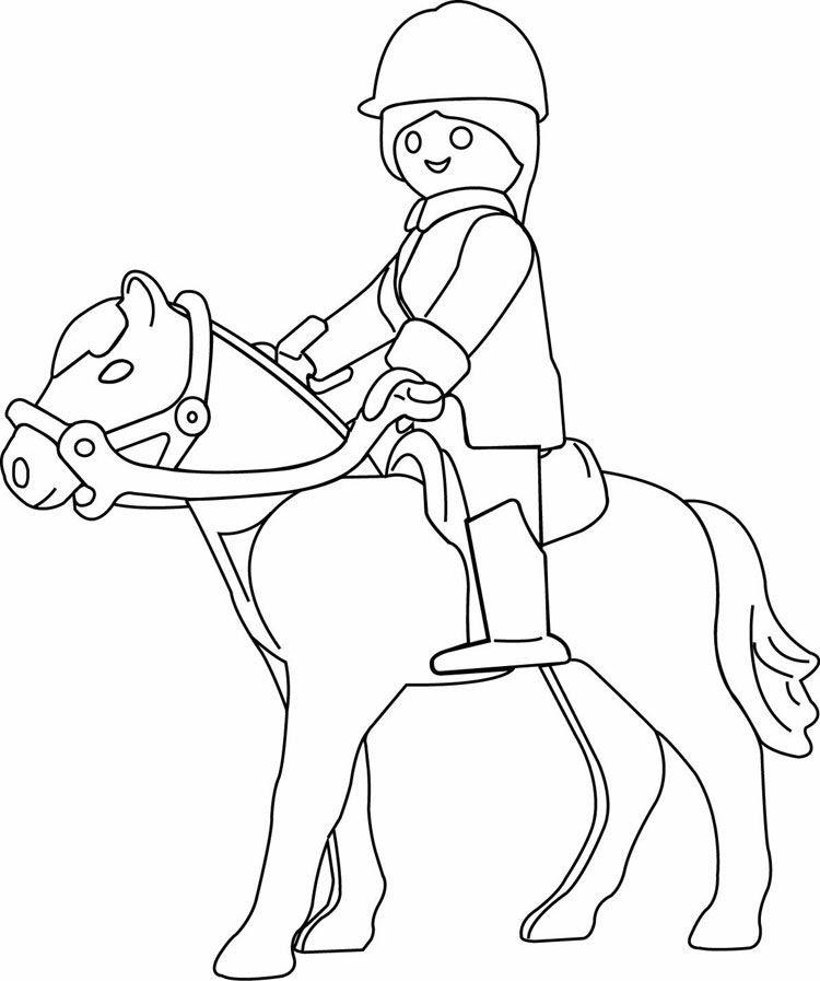 playmobil cowboy ausmalbilder - x13 ein bild zeichnen