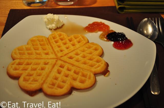 Heart/Clover Shaped Waffle