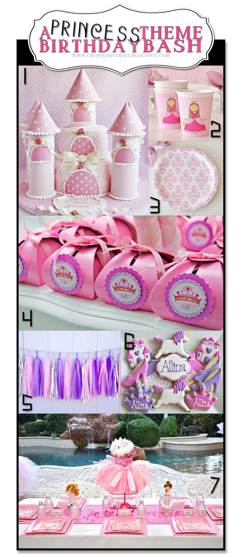 Princess Theme Birthday Party Decor