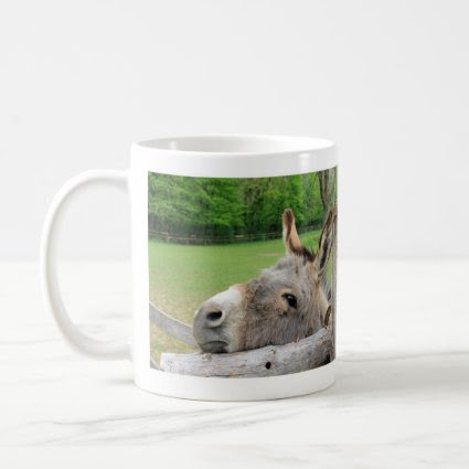 Sad and Lonely Donkey Mug