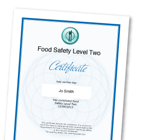 level 2 3 food hygiene notes This rsph level 3 food hygiene course, is aimed at supervisors in food   completion of the level 2 food safety and hygiene is recommended, or a basic  working  course binder and notes textbook: 'supervising food safety (level 3 )'.
