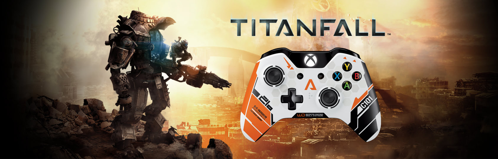 TitanFall Wireless Controller