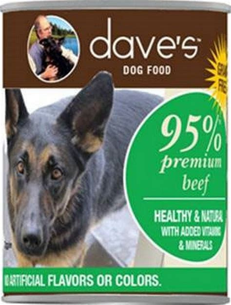 fda announces recall  dog food brand sold  daves