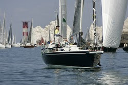 J/105 sailing Round Island Race- UK