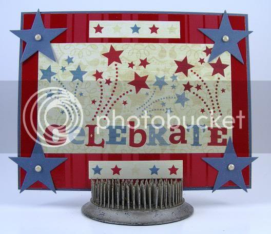 Star Celebrate Card