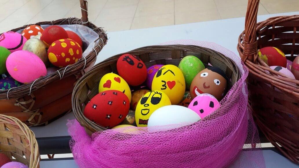 Yumurta Boyama Etkinliği Adana özel Ortadoğu Okulları Anaokulu