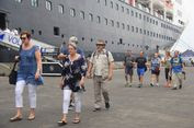 Bawa 1.370 Wisman, Kapal Pesiar MS Volendam Singgah di Semarang