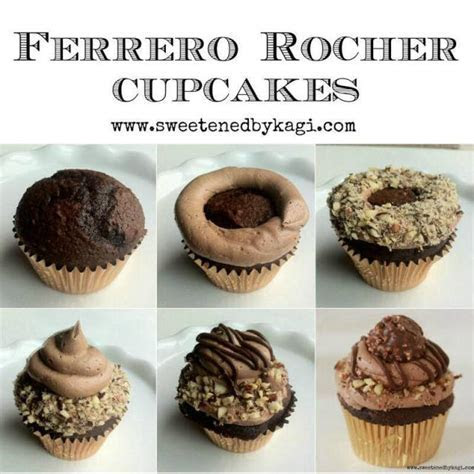 Ferrero Rocher Cupcakes   CakesDecor