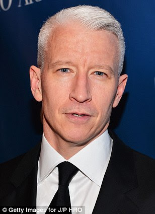 Victim: CNN's Anderson Cooper has allegedly been stalked for five years