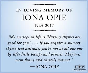 In Memorandum - Iona Opie