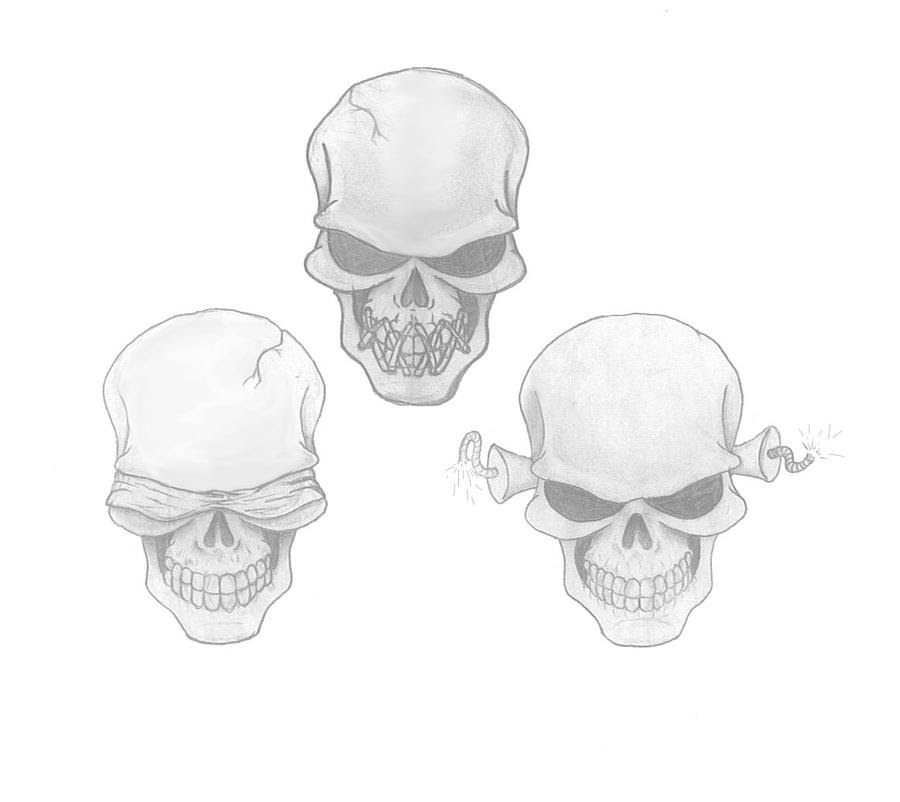 See No Evil Hear No Evil Speak No Evil Tattoos Rytir