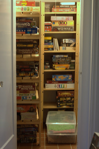 Game closet!