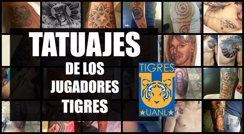 Los Tatuajes De Los Jugadores De Tigres Galeria
