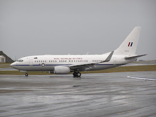 Royal Australian Air Force B737 BBJ