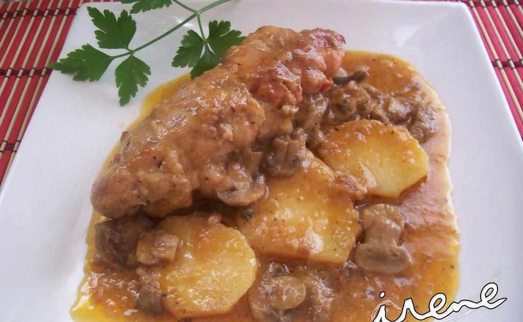 La cocina casera de irene contramuslos de pollo relleno 1 for La cocina casera