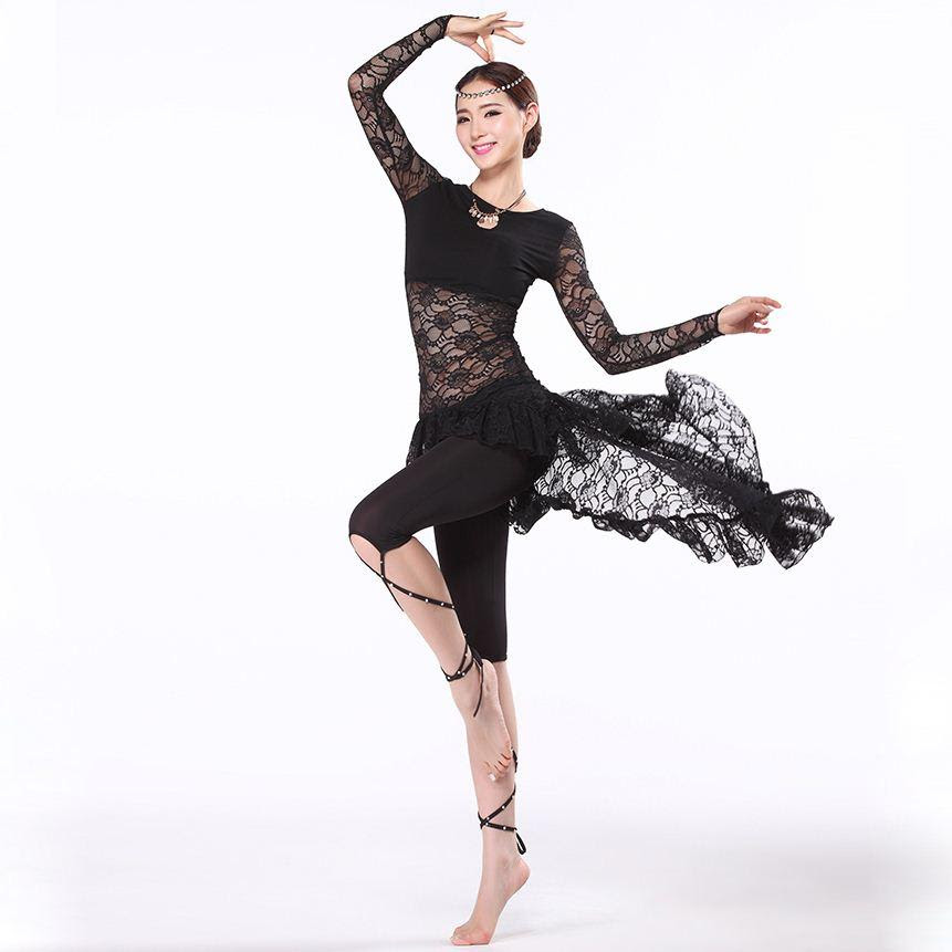 new training belly dance clothes women ballroom