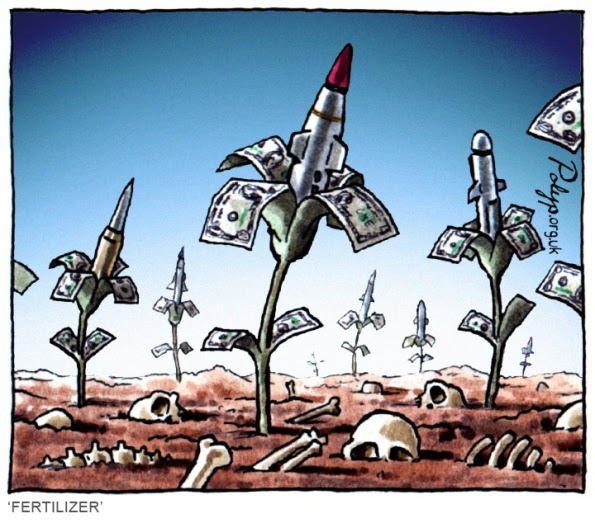 polyp_cartoon_Arms_Trade_Profits